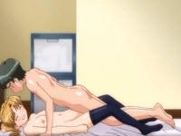 Hentai con una bionda tettona