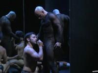 Bruno passivo inculato da un calvo sexy