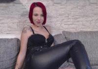Leder Legging Teen Striptease