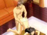 Sesso hentai con una troietta dalle tette grosse